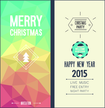 Free vector christmas invitations free vector download (8,343 Free ...