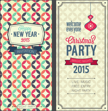Free vector christmas invitations free vector download (8,338 Free ...