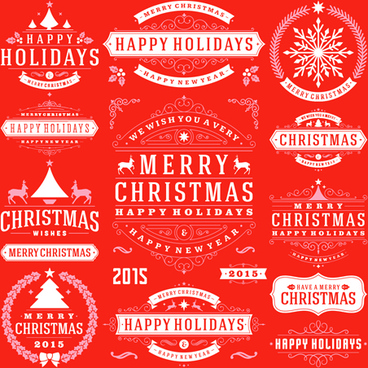 Happy holidays free vector download 7809 Free vector for