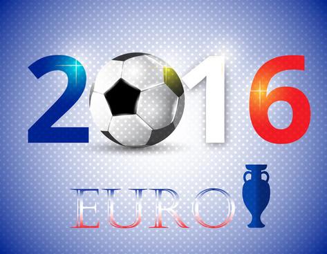 2016 euro football cup banner design