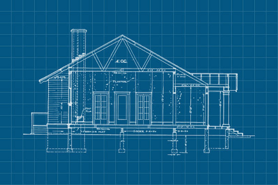 20 free blueprint construction photoshop brushes