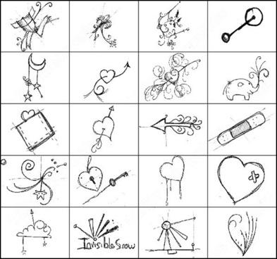 22 sketchbook scribble brush