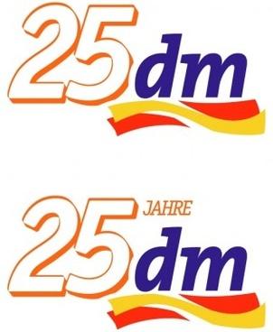 25dm drugstore illustration vector logo