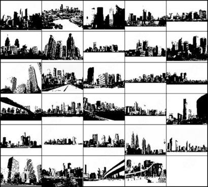 29 free skyline photoshop brush