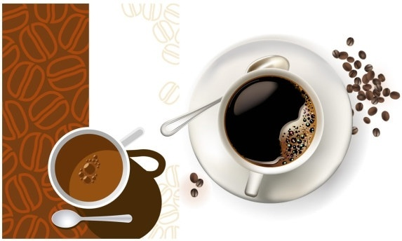 2 coffee cup clip art