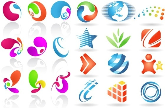 2 sets of utility icon vector graphic