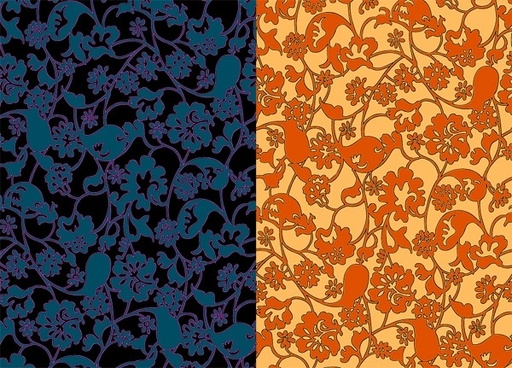 2color pattern background vector messy stroke