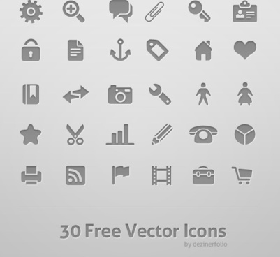 30 gray texture icon psd