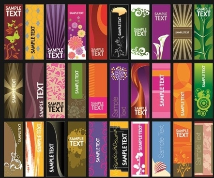 banner templates for publisher free vector download 105 175 free