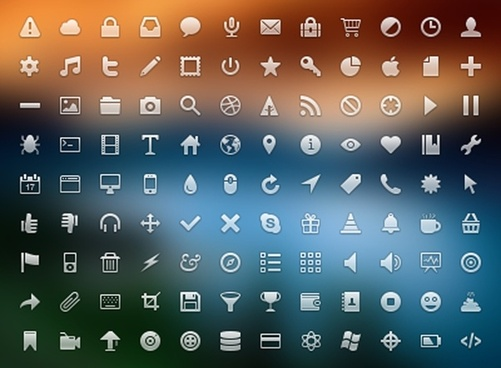 32px Icon Set