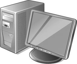 3 Gray Computer