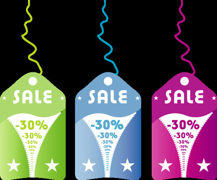 3 sale vector image