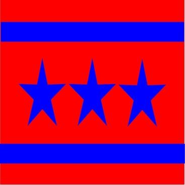 3 Star Flag