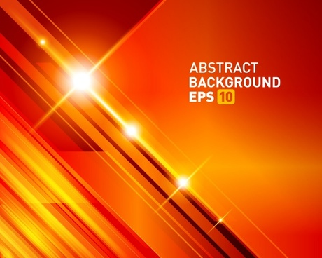 technology background sparkling orange light effect modern design