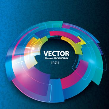 3d blue vector background