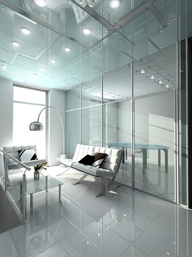 3d bright living room picture