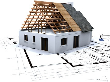 House building drawing plans free stock photos download for Commercial building blueprints free