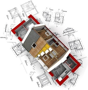 3d buildings and plan 10