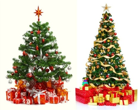 3d christmas tree hd picture