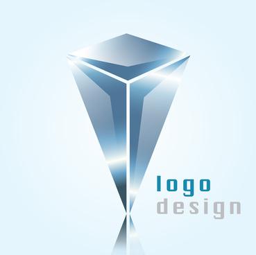 3d colorful gradient vector logo