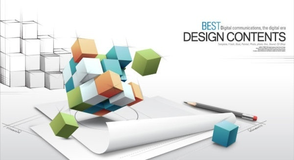 3d fashion design business vector background of the concept of text 1