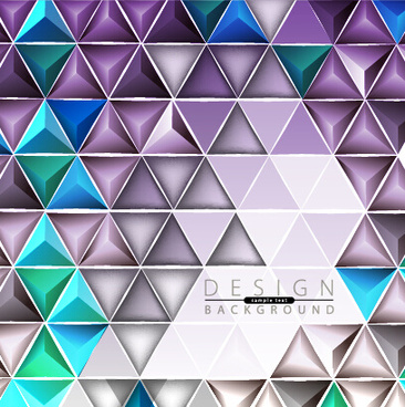 3d geometry shiny background graphic vector