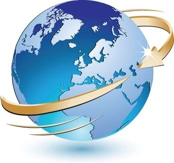 3d globe vector icon, earth globe vector ai, adobe photoshop illustrator globe ai design, blue marbel vector ai illustrator