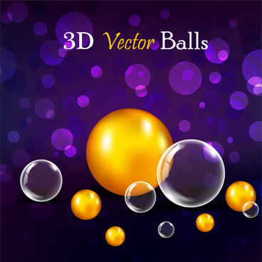 3d glossy ball