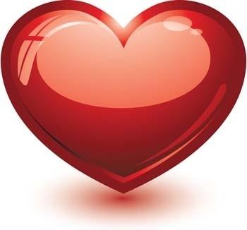 3d heart vector, heart vector ai illustrator, photoshop heart design ai vector, love sign heart vector
