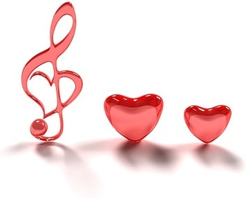 3d heartshaped note picture