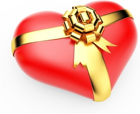 3d heartshaped series of highdefinition picture a gift