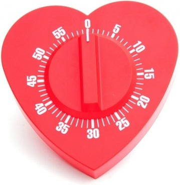 3d heartshaped series of highdefinition picture heartshaped timer