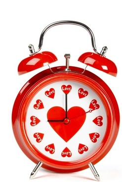 3d heartshaped series of highdefinition picture love the alarm clock