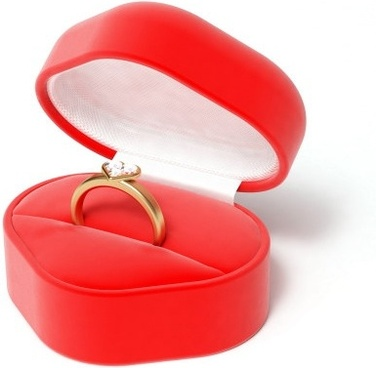 3d heartshaped series of highdefinition picture ring