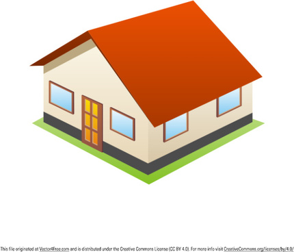 3d House Free Vector Download 5250 Free Vector For Commercial Use