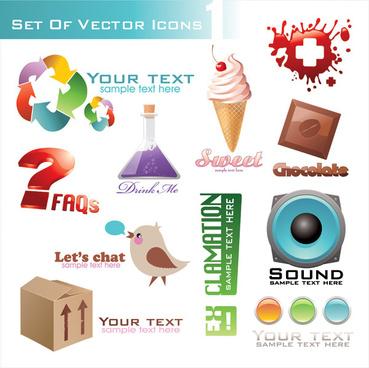 3d icon vector vector