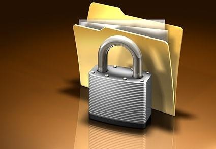 3d locked folder picture