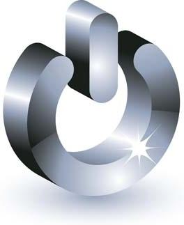 3d power button vector icon, 3d vector icon, adobe photoshop 3d illustrator design, button vector ai, button vector design illustrator