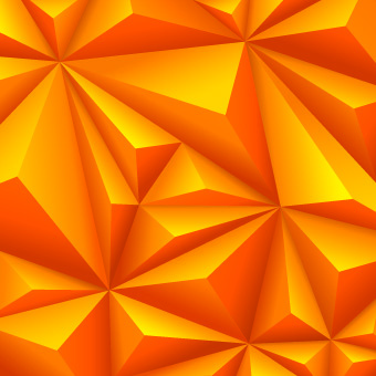 3d shapes background vector