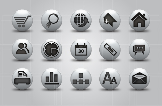 3d sphere web icon