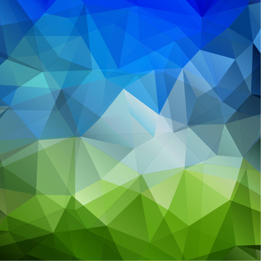 3d triangle geometric vectors background