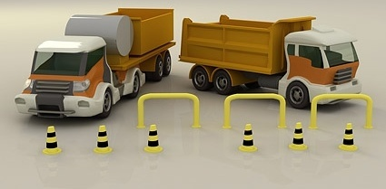 3d truck picture