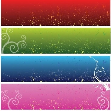 abstract background sets classical grunge style design