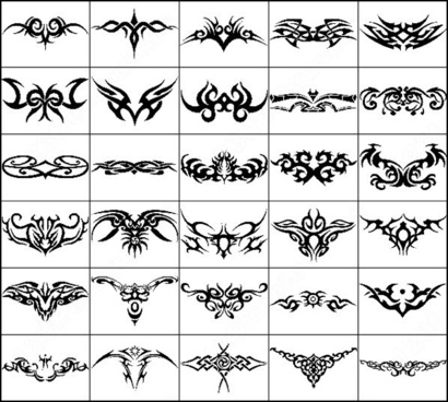 Tribal Tattoo Photoshop Brushes Download 34 Photoshop Brushes For Commercial Use Format Abr