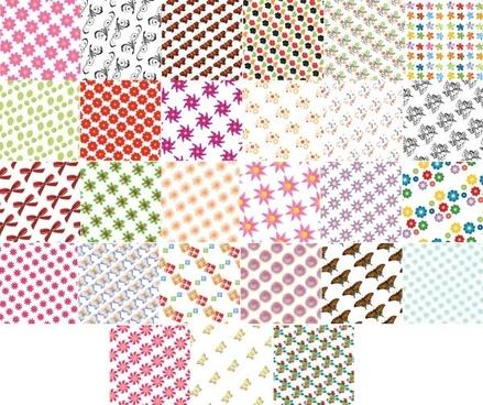 54 kinds of vector tile background 1