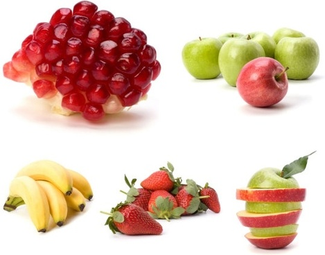 5 fruits and highquality pictures