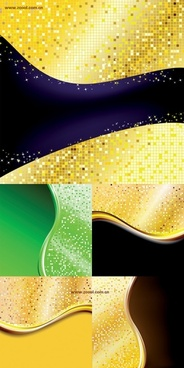 5 mosaic background vector