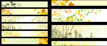 6 of the plant material vector logo banner