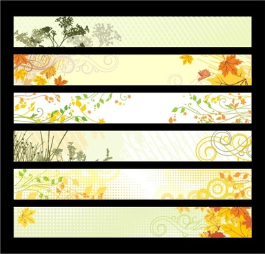 nature background collection colorful horizontal design