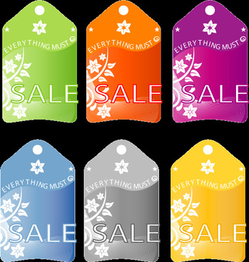 6 sale vector images
